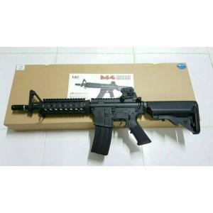 New.E&C M4 CQB ปืนยาวไฟฟ้า (ตระกูลM4) JR Custom Gen.2 เวอร์ชั่น JR Custom เจนทูหรือเจนสองคือ ปืนที่ทำการอัพเกรดอุปกรณ์ภายในมาจากโรงงาน อุปกรณ์ที่ทางโรงงานอัพเกรดมาได้แก่ -ลูกสูบฟันเหล็กจากโรงงาน เหนียว ทน -บูทแบริ่ง8มม อย่างดี จากโรงงาน ทน แน่นอ ราคาพิเศษ