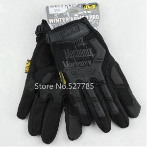 New.Mechanix Wear Gloves M-Pact Fingerless (Black M/L/XL Size) เต็มนิ้ว ราคาพิเศษ