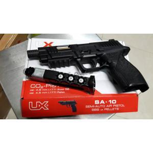 New.Umarex Co2 Pistol UX SA10 ใช้ลูกเหล็ก 4.5 mm / ใช้ลูกเบอร์1 .177 ได้ทั้ง 2 แบบ ราคาพิเศษ