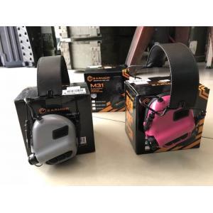 New.EARMOR/รุ่น M31 ปกป้องการได้ยินของคุณก่อนสายไป อุปกรณ์ครอบหูอิเล็กทรอนิกส์สำหรับนักกีฬายิงปืน - ลดเสียงปืน และช่วยขยายเสียงรอบข้างให้ดังขึ้น - ใช้แบตเตอรี่ AAA X 2 อายุการใช้งาน 350 ช.ม. - กันน้ำมาตรฐาน IPX5 - พร้อมการรับประกัน - พร้อมแจ๊ค 3.5mm เชื่อ