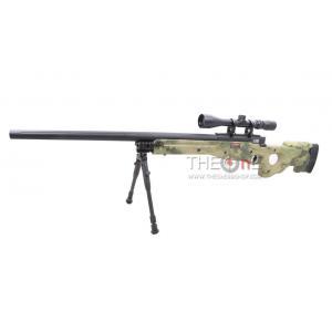 New.E&C L96 Sniper 2016 สีพิเศษ ลายพรางเขียว A-TACS แรง 460f ps รุ่นอัพเกรด กล่องไกเหล็ก+ลูกสูบอลูมิเนียม ราคาพิเศษ