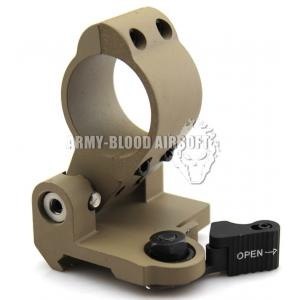 Larue LT649 Style Tactical QD Pivot Mount for Aimpoint 3x Scope (DE)