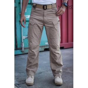 New.กางเกง Tactical ผ้า Cotton ผสมด้วยผ้าสเปนเด็กส์มีความยืดหยุ่น ใส่สบาย กระชับเข้ารูป ไม่รัดระบายความร้อนได้ดี เนื้อผ้าแห้งเร็ว รูปทรงขากระบอกเข้ารูป มีกระเป๋าใส่อุปกรณ์รอบด้าน มี 3 สี สีดำ / สีทราย / สีเทา Size 28 - 40 ราคาพิเศษ