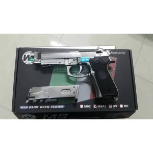 New.WE M92 Full Metal GBB Pistol (New Version, Silver) ราคาพิเศษ
