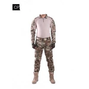 New.สีดำผู้ชายกองทัพทหารปืนเพนท์บอลยิงต่อสู้ Gen2 ยุทธวิธีกางเกงเสื้อที่มีแผ่นข้อศอกหัวเข่า สีดำ / ลายดิจิตอลทราย / ลายมัลติแคม / ลายดิจิตอลเขียว ไซร์ S / M / L / XL ราคาพิเศษ