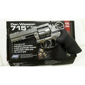 "New.ASG Dan Wesson 715 2.5"" / 4"" Co2. สีดำ / สีเงิน ราคาพิเศษ"