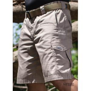 New.กางเกง Tactical (ขาสั้น) โครงสร้างผ้าริบสต็อบ (ผ้าตาข่าย) กันน้ำ ผสมด้วยผ้าสเปนเด็กส์มีความยืดหยุ่น ใส่สบาย ตัวผ้าเป็นใยทอพิเศษ ระบายความร้อนได้ดี เนื้อผ้าแห้งเร็ว มีกระป๋องใส่อุปกรณ์รอบด้าน มี 3 สี สีดำ / สีทราย / สีกรม Size 28 - 40
