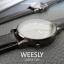 นาฬิกาข้อมือ หน้าปัดเล็ก รุ่น WEESLY นาฬิกาผู้หญิง สีดำล้วน thumbnail 10