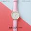 นาฬิกาข้อมือ รุ่น WEESLY-SIMM สีชมพู thumbnail 1