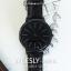 นาฬิกาข้อมือ หน้าปัดใหญ่ รุ่น WEESLY-BASIC หน้าปัดขาว สายหนังสีน้ำตาล thumbnail 5