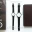 นาฬิกาข้อมือ หน้าปัดใหญ่ รุ่น WEESLY-BASIC หน้าปัดขาว สายหนังสีน้ำตาล thumbnail 10