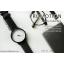 นาฬิกาข้อมือรุ่น Richa หน้าปัดน้ำตาล-สายหนังสีดำ thumbnail 2