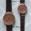 นาฬิกาข้อมือ หน้าปัดเล็ก สายหนังสีดำ รุ่น WEESLY-Rose Gold thumbnail 9