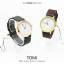 นาฬิกาข้อมือ รุ่น TOMI หน้าปัดขาว สายสีน้ำตาลเข้ม thumbnail 5