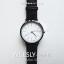 นาฬิกาข้อมือ หน้าปัดใหญ่ รุ่น WEESLY-BASIC หน้าปัดขาว สายหนังสีน้ำตาล thumbnail 12