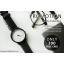 นาฬิกาข้อมือรุ่น Richa หน้าปัดดำ-สายหนังสีดำ thumbnail 3