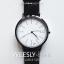 นาฬิกาข้อมือ หน้าปัดใหญ่ รุ่น WEESLY-BASIC หน้าปัดขาว สายหนังสีน้ำตาล thumbnail 6