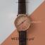 นาฬิกาข้อมือ หน้าปัดเล็ก สายหนังสีดำ รุ่น WEESLY-Rose Gold thumbnail 12