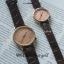 นาฬิกาข้อมือ หน้าปัดเล็ก สายหนังสีดำ รุ่น WEESLY-Rose Gold thumbnail 7