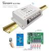 Sonoff 4CH Pro สวิตซ์สั่งงานได้ด้วย Wi-FI และ RF แบบ 4 ช่อง พร้อม 3 โหมดการทำงาน +รีโมท