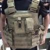 New.เสื้อเกราะ Tactical มาพรัอมอุปกรณ์ใส่แม็กพร้อม สีทราย