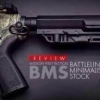 New.สินค้าขายดี พานท้าย M4 Cnmg / 5.56 MFT Battlelink Minimalist Stock Review สีดำ / สีทราย ราคาพิเศษ