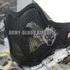 CM01 Metal Mesh Half Face Mask (Black)prev next