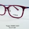 Vogue vo 5048D 2423 โปรโมชั่น กรอบแว่นตาพร้อมเลนส์ HOYA ราคา 2,500 บาท