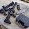 New.กล่องปืนสั้น โลโก้ GLOCK สีดำ สีทราย ราคาพิเศษ