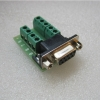 DB9 female transfer screw terminal 9 pin 9 hole RS232 RS485 conversion board