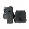 New.ซองปืนสั้น ปลดเร็ว มาพร้อมซองแม็กกาซีนคู่ Glock17 Glock19 M1911 M92F ราคาพิเศษ