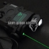 New.กล่องแบตไฟฉาย LED เลเซอร์สีเขียว มาพร้อมสวิตหางหนู สีดำ / สีทราย ราคาพิเศษ