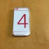 TPU ใส 0.5 (ใช้กับงานสรีนได้) iphone4/4s