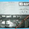 New.'JG' - Jing Gong full-metal M5-navy AEG (071) บอดี้เหล็กตัวท็อป ราคาพิเศษ
