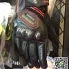 ถุงมือ GK167 สีดำ/เส้นแดง (ทัชสกรีนมือถือได้)