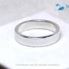 แหวนเงินแท้ เพชรสังเคราะห์ ชุบทองคำขาว รุ่น RG1480 Love is G