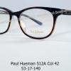 Paul Hueman 512A Col.42 โปรโมชั่น กรอบแว่นตาพร้อมเลนส์ HOYA ราคา 3,200 บาท