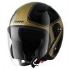 SHARK RSJ 3 SASSY Black Gold glitter KQX/HE7455