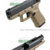 WE G23 Gen4 Tan Glock 23C ทราย (full)