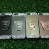 Tpu โครเมี่ยมประดับเพชรหัวท้าย(มีแหวน) iPhone5/5s/5se