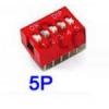DIP switch 5P