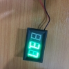 voltmeter head 0.56 inch LED digital voltmeter DC 0V-30.0V polarity protection