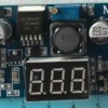 The new DC-DC adjustable power supply module LM2596 voltage regulator module with voltage meter display