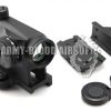New.Element OS5031 Aimpoint MICRO T-1 Red Green Dot Scop with Offset Rail Mount,QD Mount & Low Mount (BK) ราคาพิเศษ