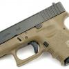 Glock26 Gen3 WE ทูโทน สีทราย สไลด์ดำ (Full Auto)