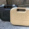 กล่องปืน GLOCK มีสีดำ สีทราย