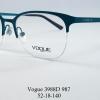 Vogue vo 3988D 987 โปรโมชั่น กรอบแว่นตาพร้อมเลนส์ HOYA ราคา 2,500 บาท
