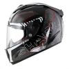SHARK RACE-R PRO CINTAS Black Anthracite Red KAR/HE8685
