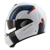 SHARK EVOLINE 3 DROP White Blue Red WBR/HE9357
