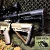 New.สินค้าขายดี พานท้าย M4 / M16 ใช้กับปืนจริง MFT Battlelink Minimalist Stock Review สีดำ สีทราย ราคาพิเศษ